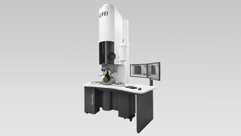 Fei Titan Halo microscope with Sentech sensor technologie
