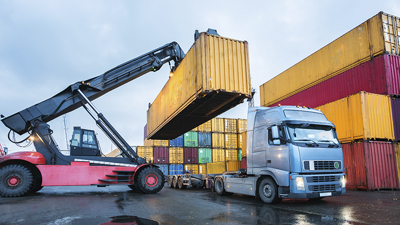 Automotive sensors and solutions for heavy vehicles in container handling