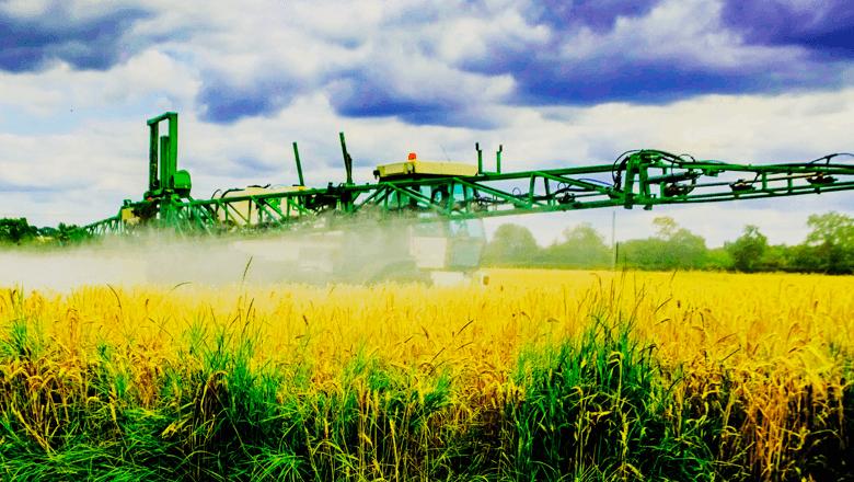 Sentech landbouw spuitmachine